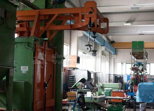 officina meccanica revisione pompe e compressori